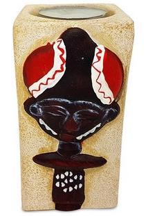 Porta-Vela C/ Figura Tribal