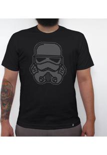Trooper Bordado - Camiseta Clássica Masculina