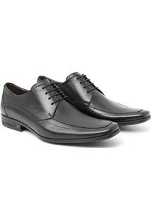 Sapato Social Mestico Amarrar - Masculino-Preto