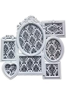 Porta Retrato 50X50 Romantic Frames Branco