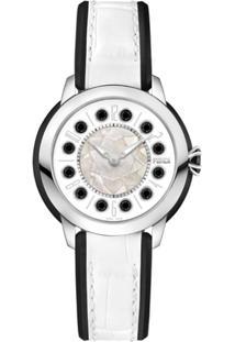 Fendi Relógio Com Topázio - Branco