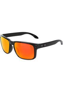 Óculos De Sol Oakley Polarized Masculino - Masculino-Laranja