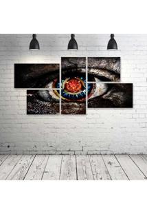 Quadro Decorativo - The-Digital-Art - Composto De 5 Quadros