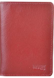 Carteira M.Art 70B Vermelho
