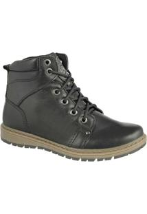 Coturno Em Couro Bmbrasil Working Casual 8502 - Masculino