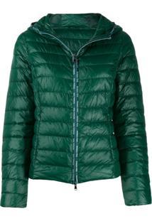 Patrizia Pepe Hooded Puffer Jacket - Verde