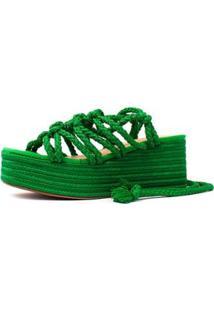 Sandália Damannu Shoes Brooke Feminina - Feminino-Verde
