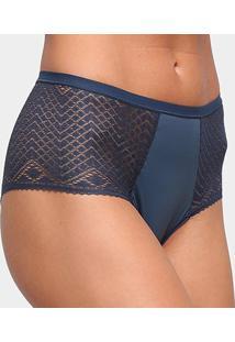 Calcinha Hot Panty Liz Boulevard 80140 - Feminino-Azul