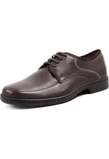 Sapato Social Opananken Job Marrom Escuro