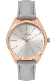 Relógio Condor Bracelete Co Feminino - Feminino-Dourado
