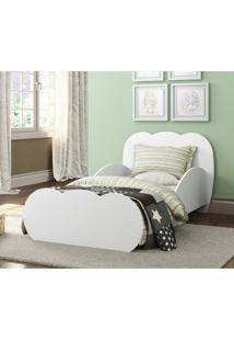 Mini Cama Algodão Doce Com Colchão 150Cmx70Cm 100% Mdf Multimóveis Branca