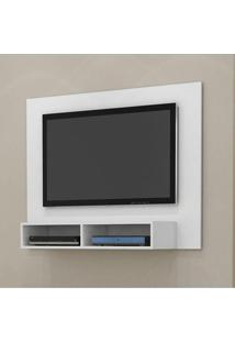 Rack Home Painel Suspenso Para Tv De Até 42 Polegadas - Branco Acetinado