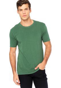 Camiseta Manga Curta Vr Confort Verde