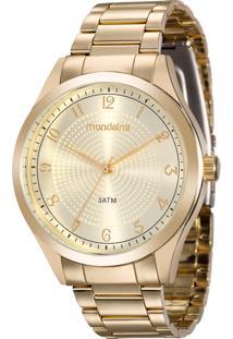 93972ffa37d Relógio Digital Cristal Dourado feminino
