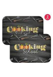 Jogo Americano Love Decor Cooking School Chumbo