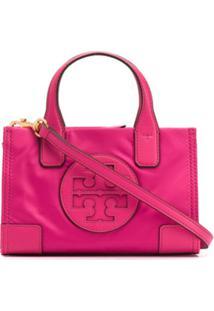 Tory Burch Ella Micro Tote Bag - Rosa