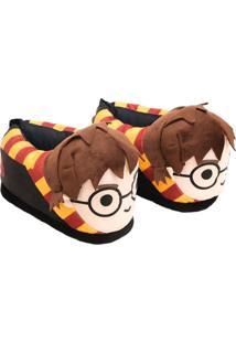 Pantufa Ricsen Harry Potter 3D Marrom