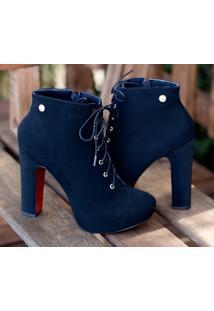 Ankle Boot Dm Extra Nobuck Preto Dme179447 Npd Numeração Especial Tamanhos Grandes 41 42 43