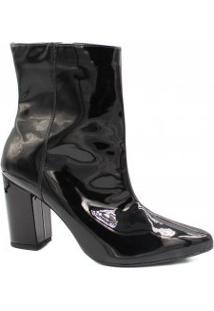 Bota Cano Curto Zariff Shoes Salto