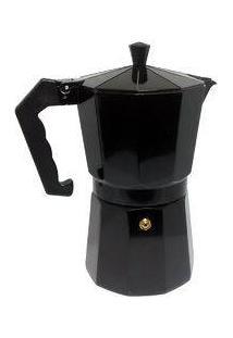 Cafeteira Tipo Italiana Aluminio 3 Cafés - Black