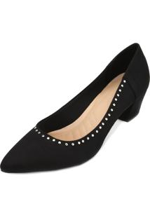 Scarpin Lady Queen Am18-41009 Preto