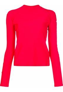 Perfect Moment Camiseta Para Surf Com Estampa De Logo - Vermelho