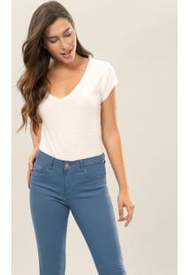 Calça Jeans Skinny Bali Duo Core Azul - Lez A Lez