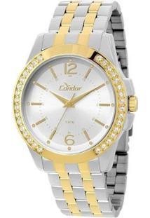 Relógio Condor - Feminino-Prata+Dourado