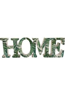 Painel Decorativo Home 31Cm - Urban - Verde
