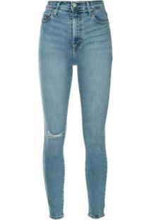 Nobody Denim Calça Jeans Skinny 'Siren' - Azul