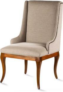 Cadeira Casual Madeira Maciça Design Clássico Avi Móveis