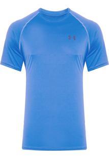 Camiseta Masculina Ua Tech - Azul