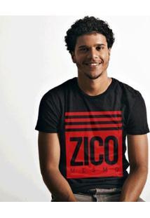 Camiseta Zé Carretilha Mengão Zico Mesmo Masculina - Masculino
