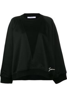 Givenchy Blusa De Moletom - Preto
