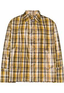 Uniforme Trench Coat Xadrez - Marrom