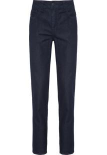 Calça Jeans Masculina Slim - Azul Marinho