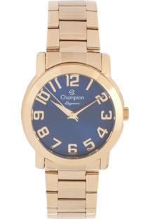 Relógio Champion Cn26144A Dourado