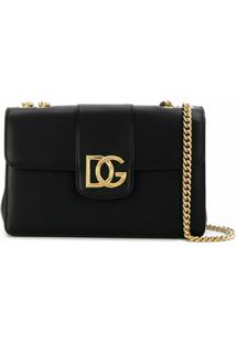 Dolce & Gabbana Bolsa Tiracolo Dg Millennials - Preto