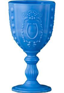 Taças Opalina Conjunto 6 Peças Azul 6F Decor