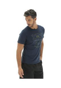 Camiseta Timberland Tbl Brewers - Masculina - Azul Escuro