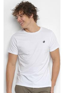 Camiseta Polo Up Gola Careca Masculina - Masculino