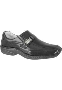 Sapato Confort Ranster New Premium - Masculino-Preto