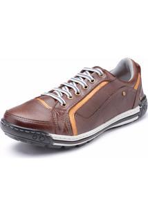 Sapatênis Dr Shoes Casual Vinho Escuro