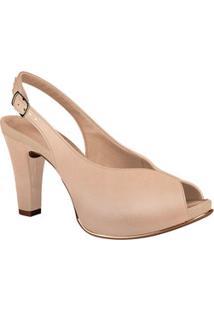 Peep Toe Feminino Chanel Dakota G0052
