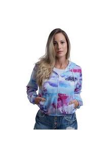 Jaqueta Colorida Corta Vento Para Frio Inverno Feminino