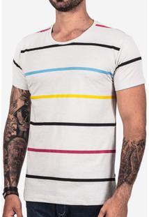 Camiseta Listrada Cmyk 101846