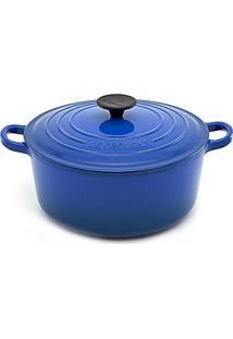 Panela Redonda 20 Cm Azul Cobalto Le Creuset