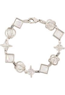11f35b903eb7b ... Atelier Swarovski Nostalgia Bracelet By Mary Katrantzou - Prateado