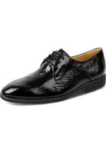 Sapato Social Derby Sandro Moscoloni Kevinson Preto