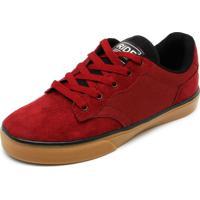 Tênis Ride Skateboard Senn Vinho 36835eb9f99e5